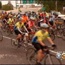Thousands Of Cyclists Hit The Road In The Fight Against Cancer