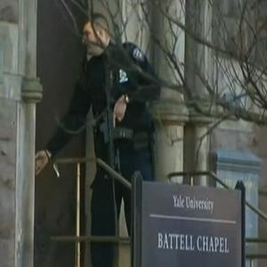 Raw: Yale Campus on Lockdown; Police Search On