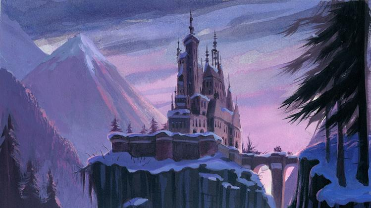 Beauty and the Beast Walt Disney Pictures 1991 Concept Art