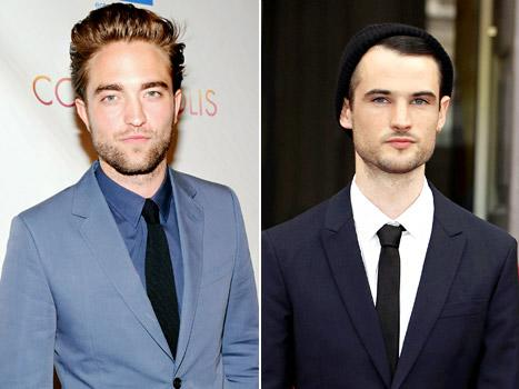 Robert Pattinson, BFF Tom Sturridge Hang Out in NYC