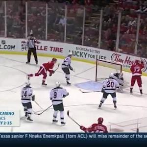 Wild at Red Wings / Game Highlights