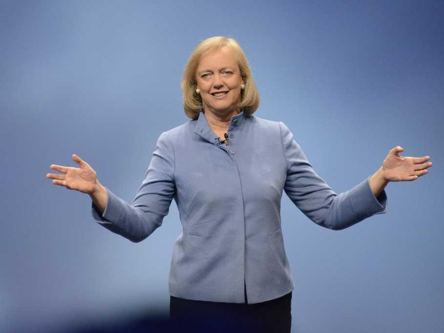 HP CEO Meg Whitman will get a monstrous payout if she's ever fired