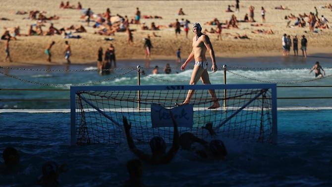 Water Polo By The Sea