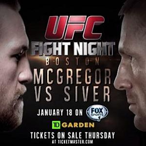 UFC Fight Night Boston: McGregor vs Siver