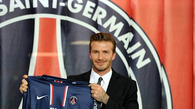 David Beckham could make his PSG debut at the weekend