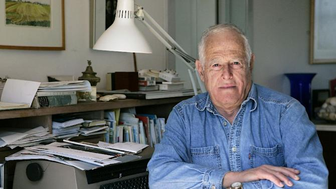 FILE - This March 30, 2005 file photo shows author James Salter at his home in Bridgehampton, N.Y. The first novel in more than 30 years by Salter, 87, will be published in April 2013.  (AP Photo/Ed Betz, file)