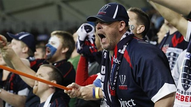 Melbourne Rebels fans