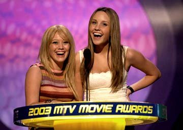 Hilary Duff and Amanda Bynes