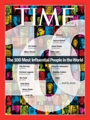 How many of TIME's most influential people are mothers?