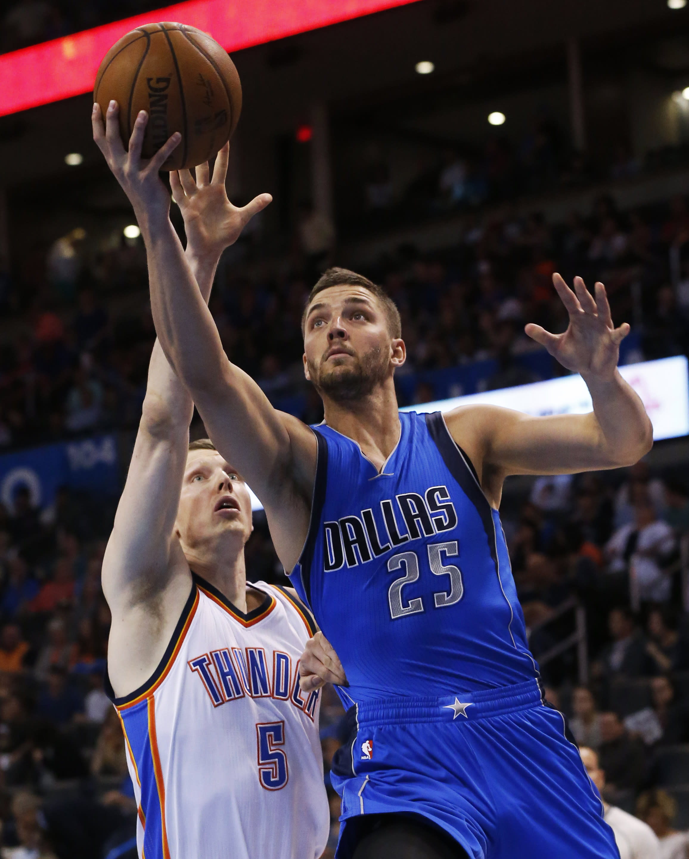 Mavs beat Thunder 135-131 despite Westbrook triple-double