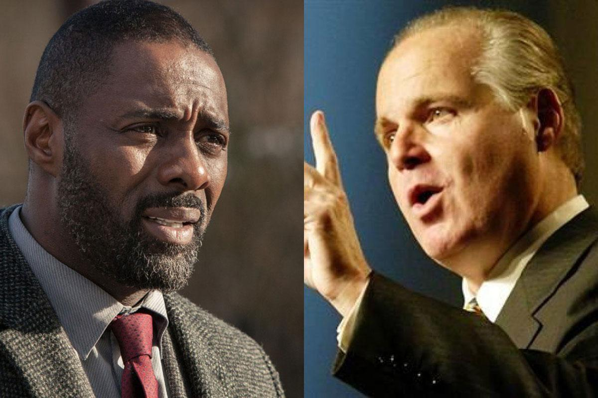 "Rush Limbaugh says ""African-English"" actor Idris Elba can't be James Bond"
