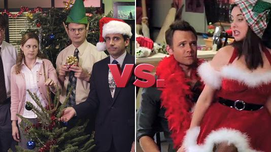 Mistletoe Madnes - The Office vs. Community