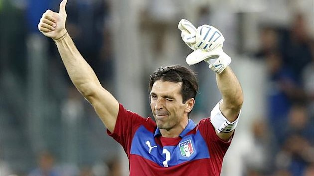 Italy's goalkeeper Gianluigi Buffon (Reuters)