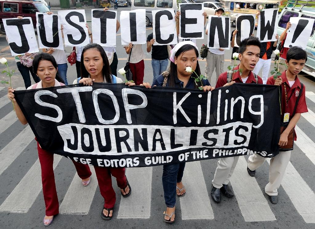 Outrage after three journalists killed in Philippines