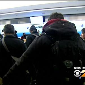 Hundreds Of Flights Canceled At Area Airports As Storm Moves In