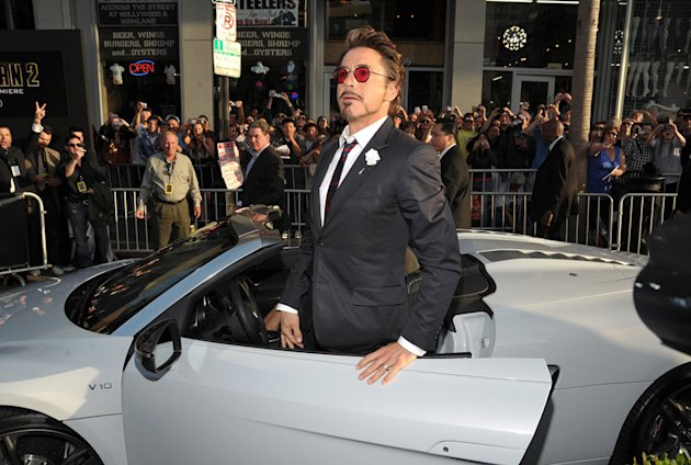 Iron Man 2 LA Premiere 2010 Robert Downey Jr.