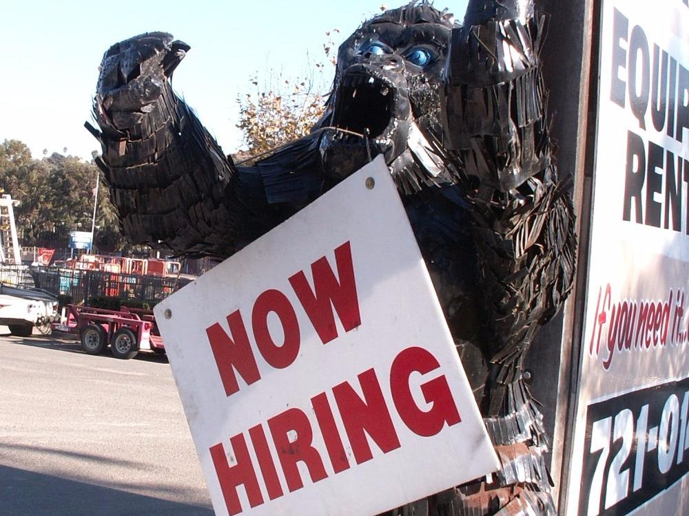 The one reason Goldman Sachs thinks the jobs report could be massive
