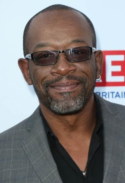 Lennie James attends the GREAT British Film Reception at the British Consul General's Residence, Los Angeles, on February 22, 2013 -- Getty Images