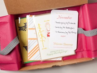 Mercier Beaucoup Stationery Subscription