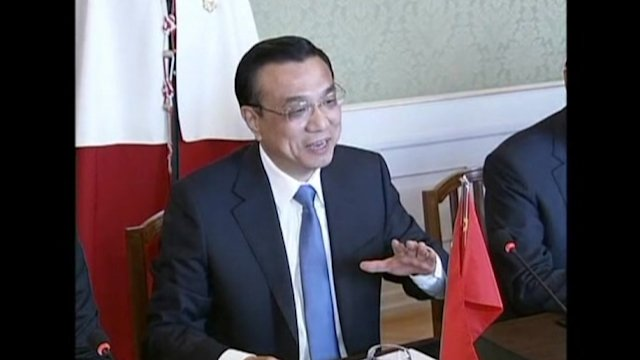Chinese premier criticises planned EU trade measures