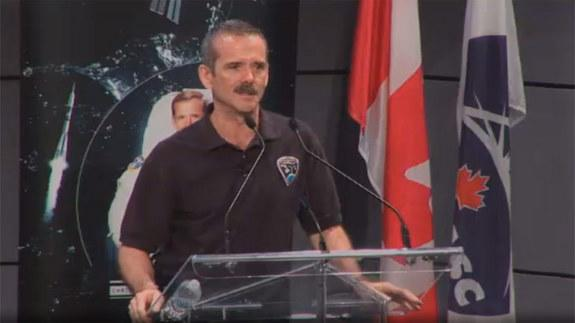 Canadian Superstar Astronaut Hadfield Announces Retirement