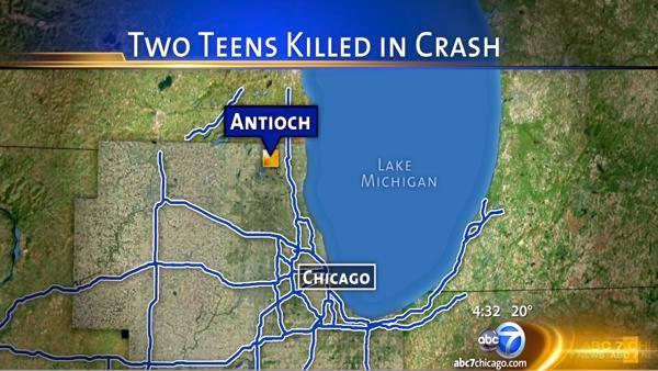 Teens from Antioch, Lindenhurst killed in crash