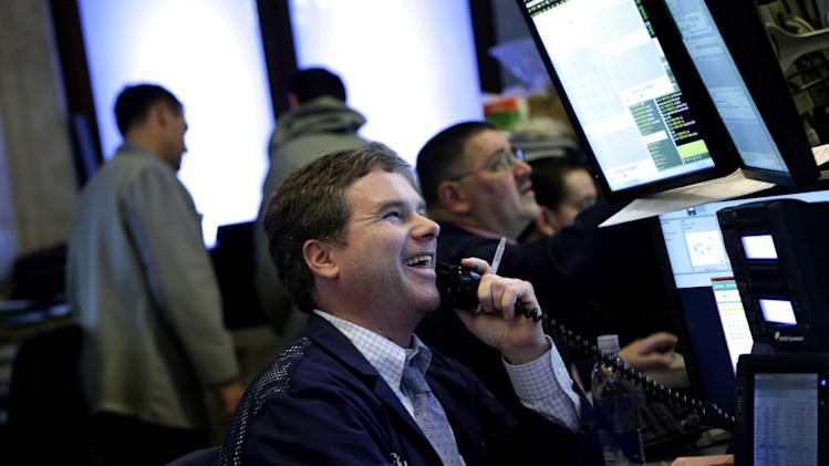 Stocks edge higher after Wednesday's drop