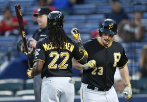 Pirates rip Braves 10-1, cut Cards' lead to 1  …