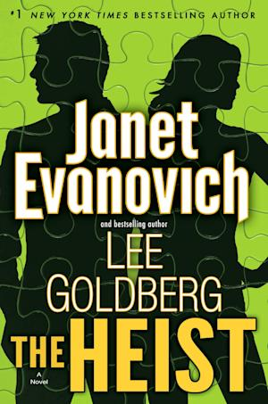 """This book cover image released by Bantam shows """"The Heist,"""" by Janet Evanovich and Lee Goldberg. (AP Photo/Bantam)"""
