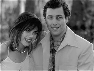 Fairuza Balk and Adam Sandler in Touchstone's The Waterboy