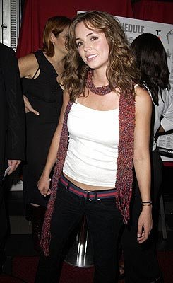 Eliza Dushku Welcome To Collinwood Premiere Toronto Film Festival - 9/7/2002