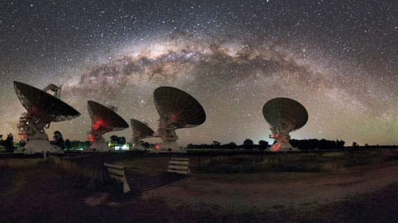 Mysterious burst of radio waves traced to galaxy billions of light-years away