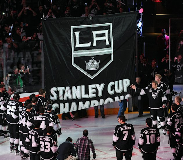 NHL: Chicago Blackhawks at Los Angeles Kings
