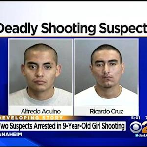 2 Arrested In Anaheim Girl's Shooting Death