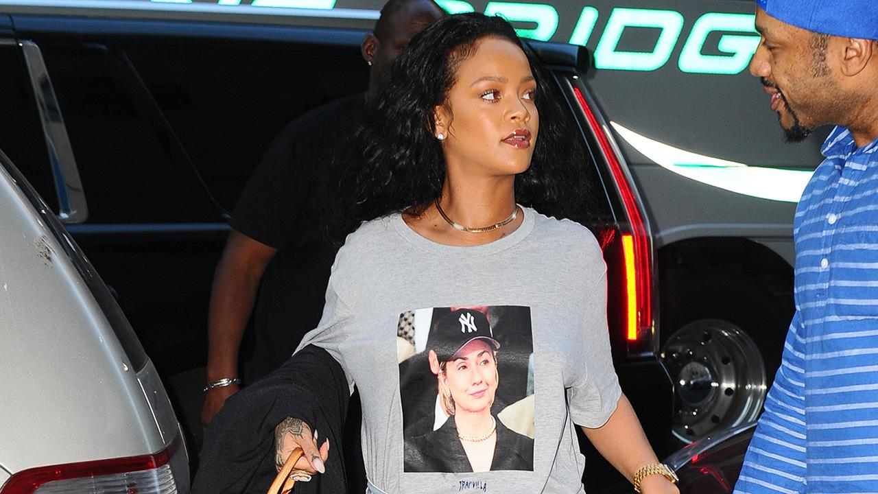 Rihanna Steps Out in Epic Hillary Clinton Shirt During Final Presidential Debate: Pics!