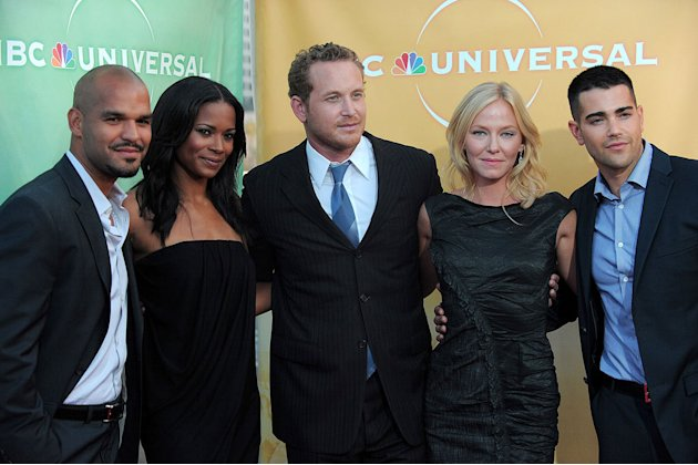 &quot;The Chase's&quot; Amaury Nolasco, Rose Rollins, Cole Hauser, Kelli Giddish, and Jesse Metcalfe arrive at NBC Universal's 2010 TCA Summer Party on July 30, 2010 in Beverly Hills, California. 