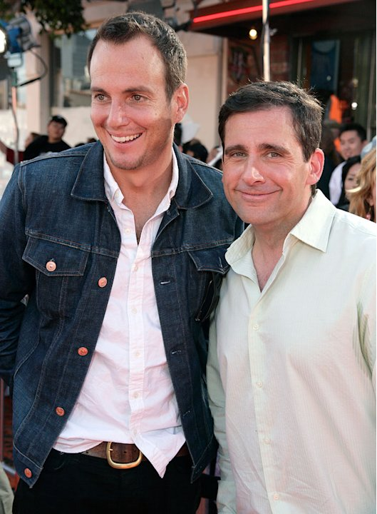 Will Arnett and Steve Carell at the premiere of 20th Century Fox's 'Horton Hears a Who!' -  March 8, 2008 