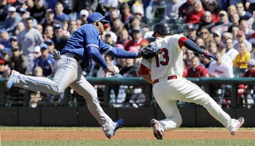 Blue Jays topple Indians 7-4 in 12 innings