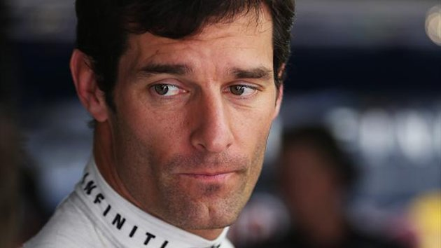 Mark Webber at the 2013 Malysian GP