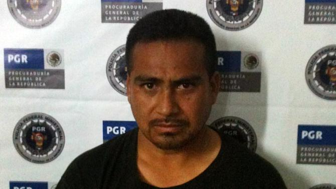 This undated photo taken by Mexican Authorities and provided Wednesday, Feb. 6, 2013 by the Texas Department of Criminal Justice shows Juan Salaz. Salaz, a Texas prison escapee on the run for almost 16 years, has been captured by authorities in Mexico and awaits extradition to the U.S. to finish serving his sentence on charges of attempted capital murder of a police officer, state Department of Criminal Justice officials said Wednesday, Feb. 6, 2013. (AP Photo/Texas Department of Criminal Justice)