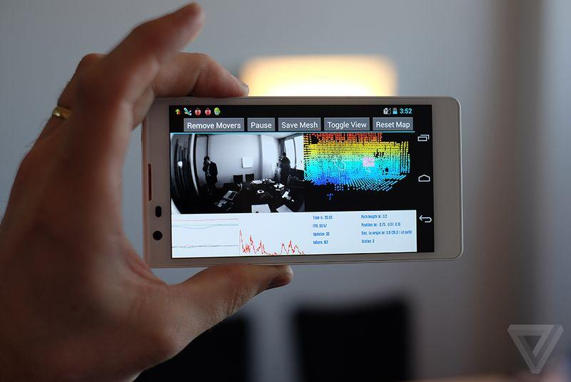 Project Tango, Google's all-seeing tablet experiment, will live on
