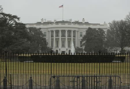 Man arrested after climbing bike rack outside White House