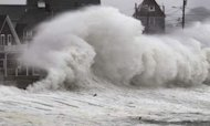 Sandy Victims Suffer As New Storm Hits US Coast