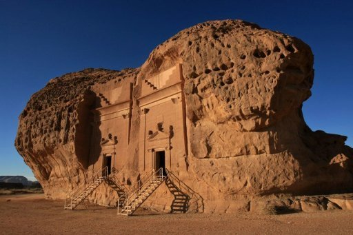 File photo taken in 2007 shows part of the archaeological site of Al-Hijr in Saudi Arabia. Dating back to the second century BC, the Nabataean archaeological site has long been hidden from visitors in this conservative kingdom