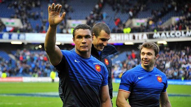 France's Thierry Dusautoir