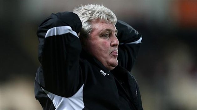 Steve Bruce admits the occasion got the better of Hull against Bristol City
