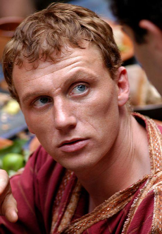 Kevin McKidd plays Lucius Vorenus in Rome on HBO.