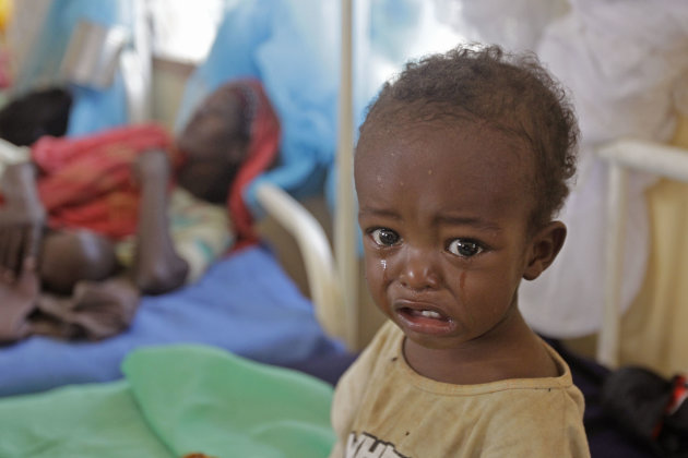 Click to see more images of the famine in Somalia. (AP Photo/Schalk van Zuydam)