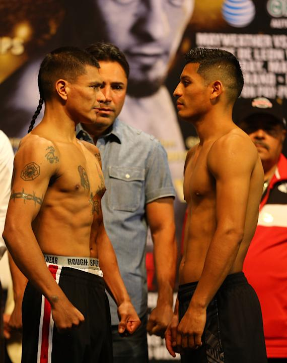 Daniel Ponce De Leon v Abner Mares - Weigh-In
