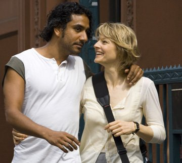 Naveen Andrews and Jodie Foster in Warner Bros. Pictures' The Brave One
